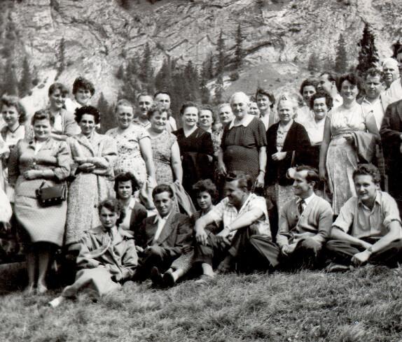 Oberschützer Ausflug nach Admont, 1957